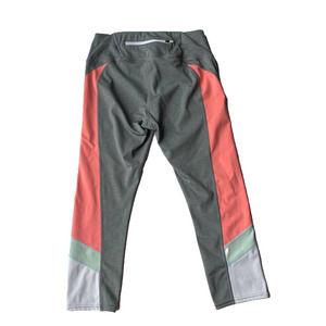 Athleta Crop Capri Color Block Leggings Small